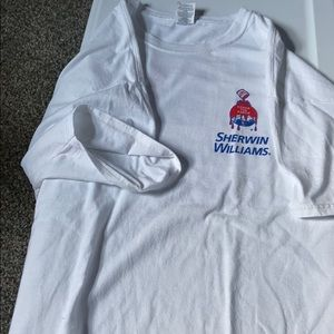 Mens Sherwin Williams tshirt